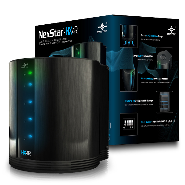 Vantec external backup solutions