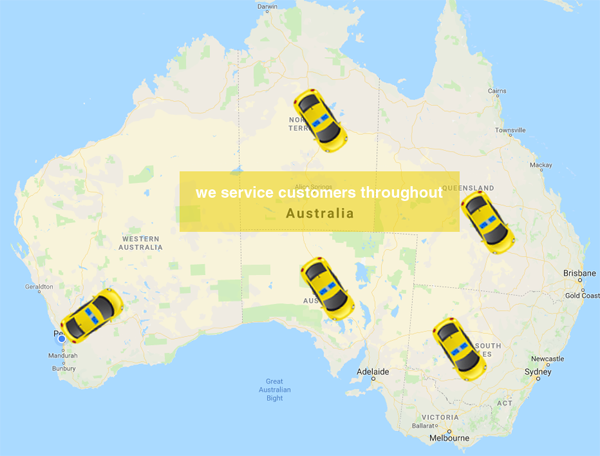 service areas australia wide