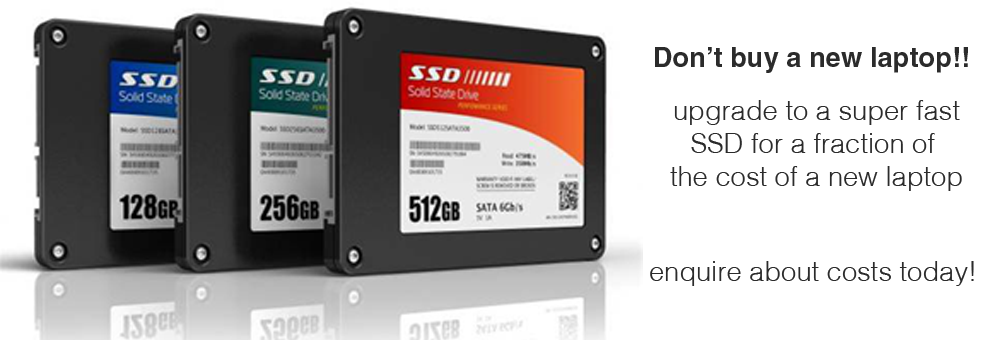 upgrade to SSD drive
