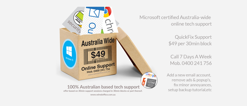 Online support Australia from $49